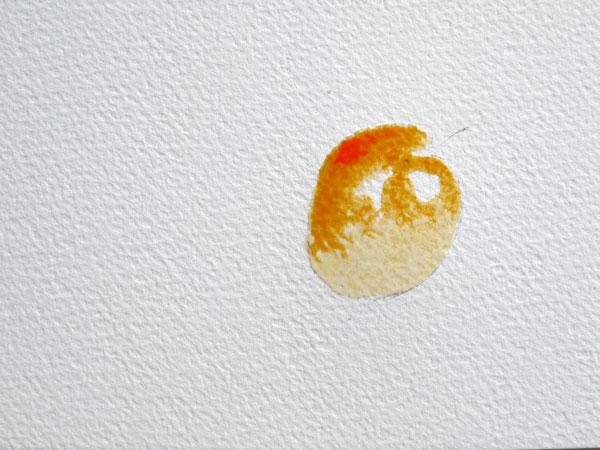 pas à pas aquarelle watercolor astuce ombre étape 2