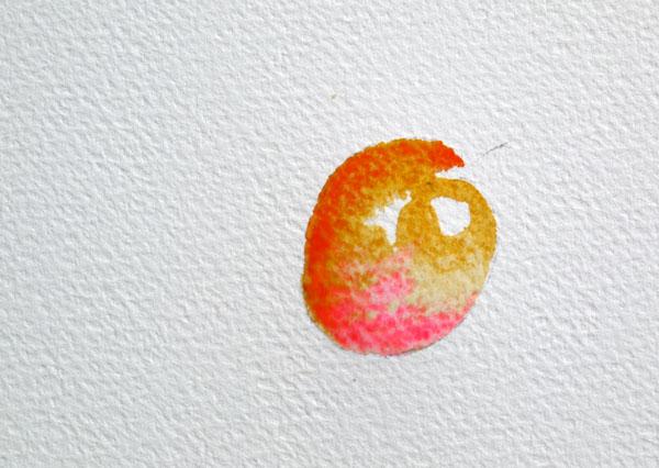 pas à pas aquarelle watercolor astuce ombre étape 3