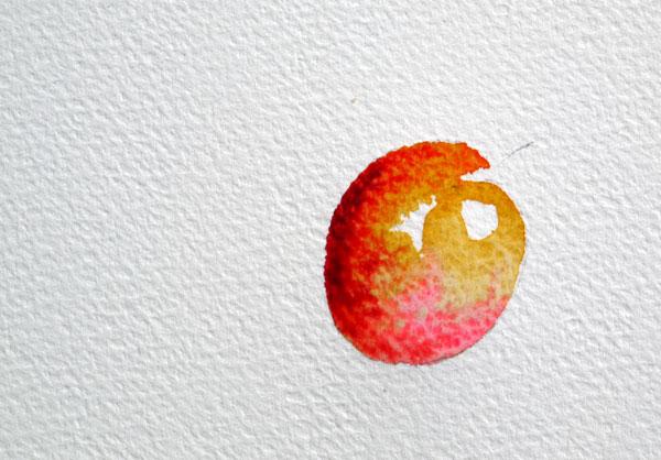 pas à pas aquarelle watercolor astuce ombre étape 5