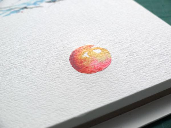 pas à pas aquarelle watercolor astuce ombre étape 6