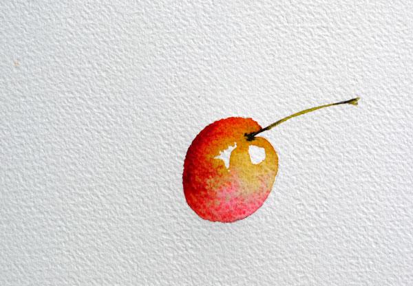 pas à pas aquarelle watercolor astuce ombre étape 7