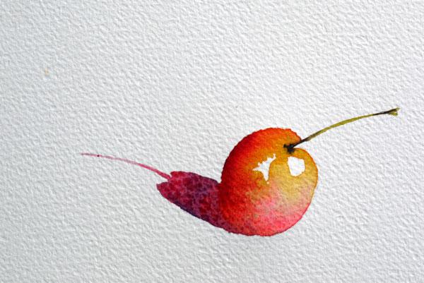 pas à pas aquarelle watercolor astuce ombre étape 8