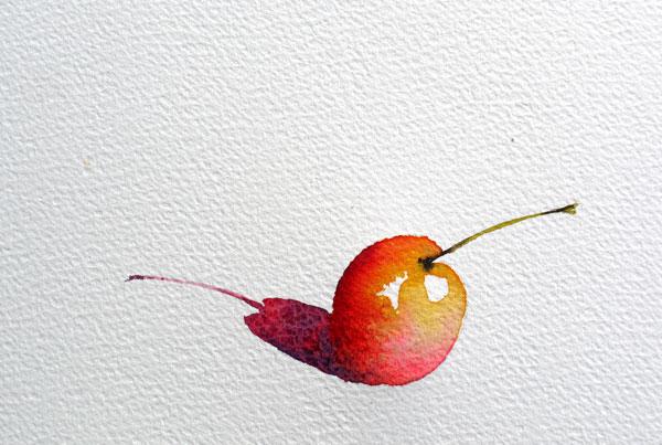 pas à pas aquarelle watercolor astuce ombre étape 10