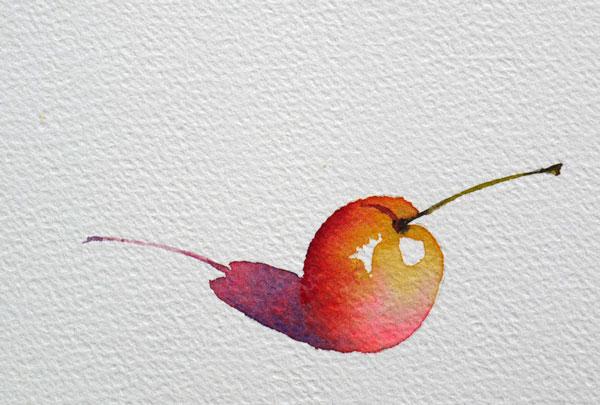 pas à pas aquarelle watercolor astuce ombre étape finale