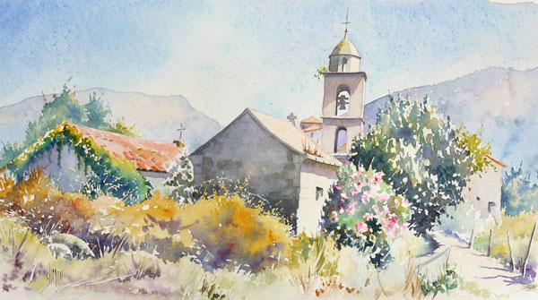 "[ ""Oeuvres"" de ranette ] maj : tomorrowland Optimisation-aquarelle-watercolor-santa-maria-2"
