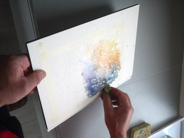 mélange des couleurs et récupération d'eau