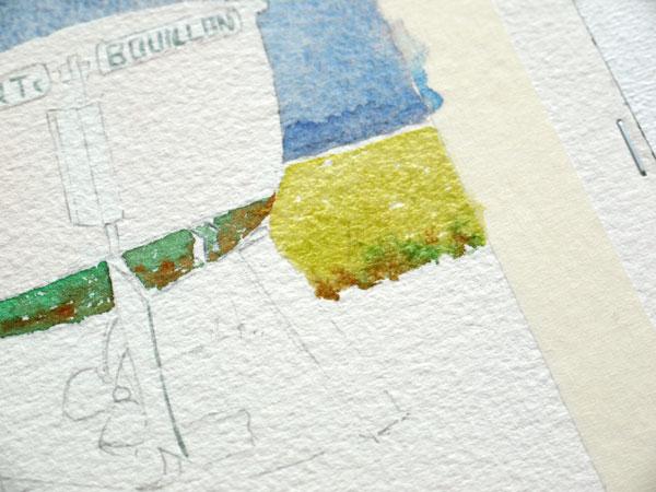 peindre la prairie