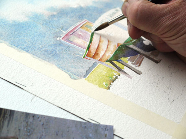 bordage du bateau