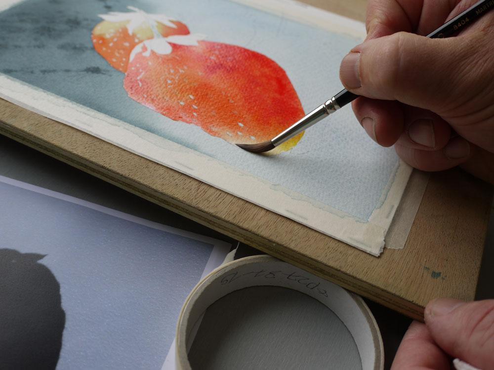 aquarelle-fraise-retrait-lumiere-16