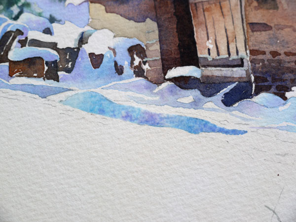 aquarelle-watercolor-baraque-neige-25