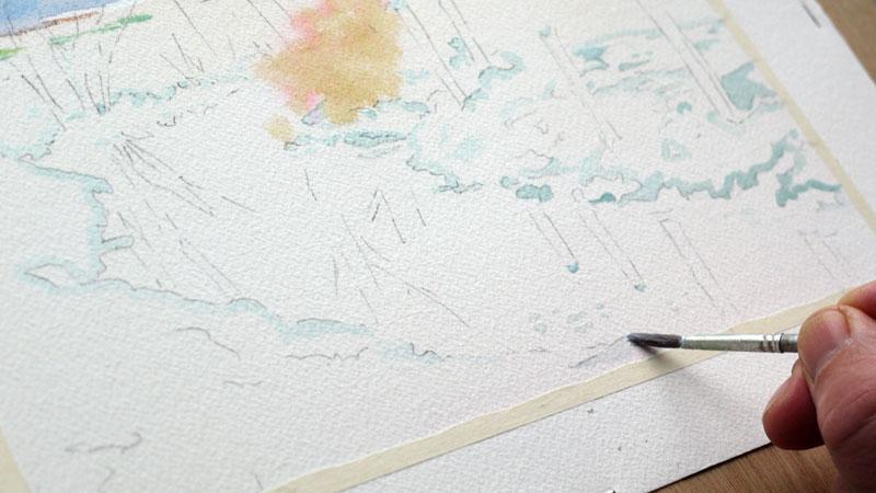 9-aquarelle-paysage-neige