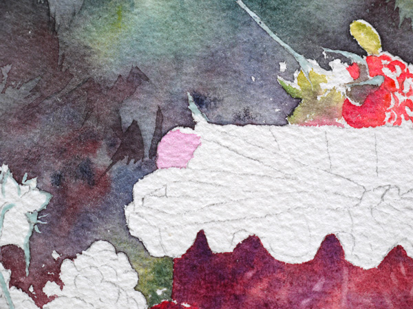 21-Aquarelle-joel-simon-feuille-Framboises